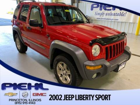 2002 Jeep Liberty Sport for sale at Piehl Motors - PIEHL Chevrolet Buick Cadillac in Princeton IL
