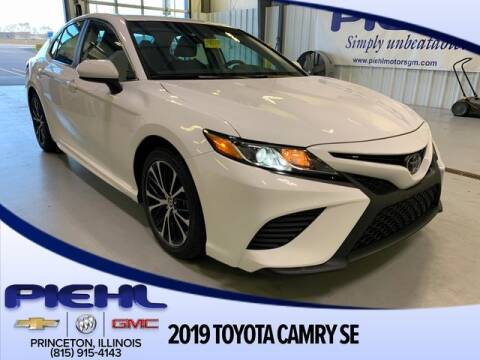 2019 Toyota Camry SE for sale at Piehl Motors - PIEHL Chevrolet Buick Cadillac in Princeton IL