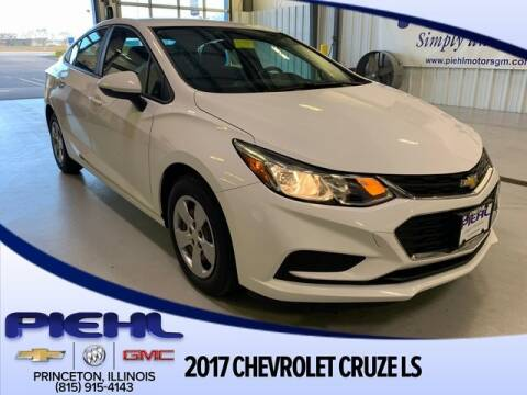 2017 Chevrolet Cruze LS Auto for sale at Piehl Motors - PIEHL Chevrolet Buick Cadillac in Princeton IL