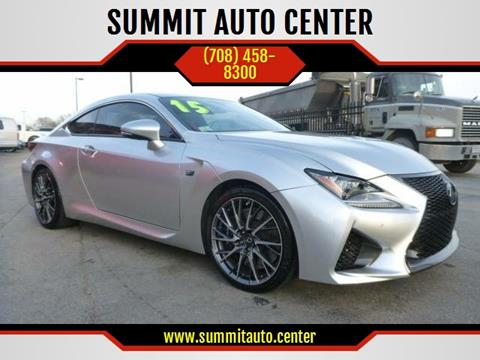 2015 Lexus RC F for sale in Summit, IL