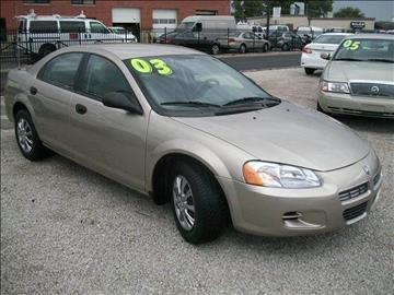 2003 Dodge Stratus for sale in Summit, IL