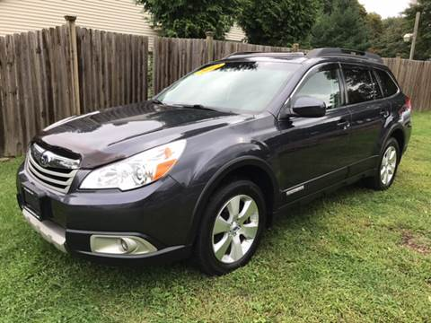 2012 Subaru Outback for sale at ALL Motor Cars LTD in Tillson NY