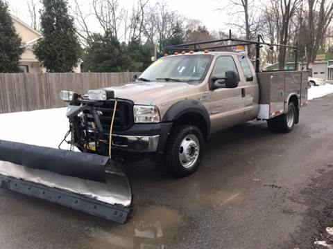 2007 Ford F550 Super Duty for sale at ALL Motor Cars LTD in Tillson NY