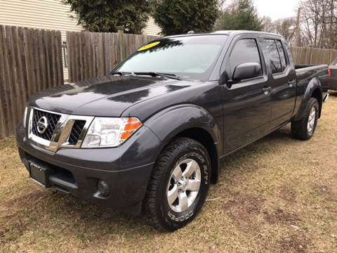 2012 Nissan Frontier for sale at ALL Motor Cars LTD in Tillson NY