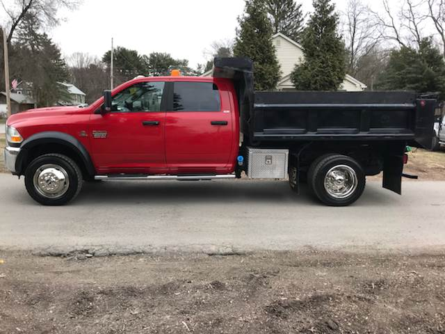 2011 Dodge Ram 4500 Quad Cab Dump Truck Slt In Tillson Ny All
