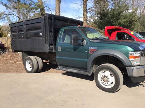 2008 Ford F-550 for sale at ALL Motor Cars LTD in Tillson NY