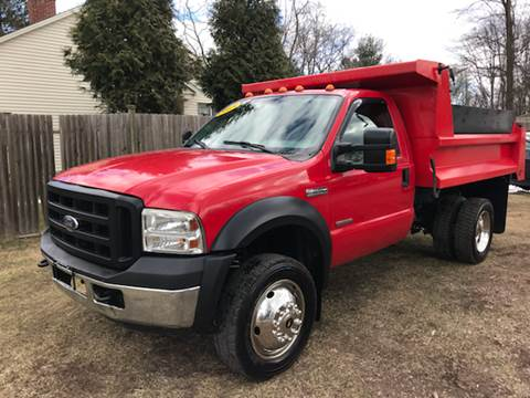 2006 Ford F-550 for sale at ALL Motor Cars LTD in Tillson NY