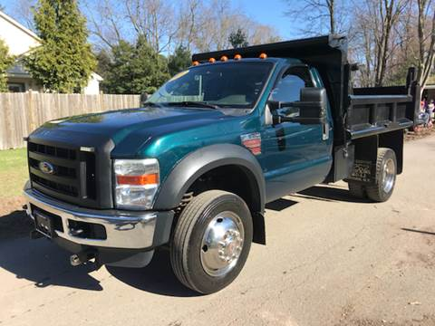 2010 Ford F-550 for sale at ALL Motor Cars LTD in Tillson NY