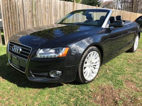 2012 Audi A5 for sale at ALL Motor Cars LTD in Tillson NY