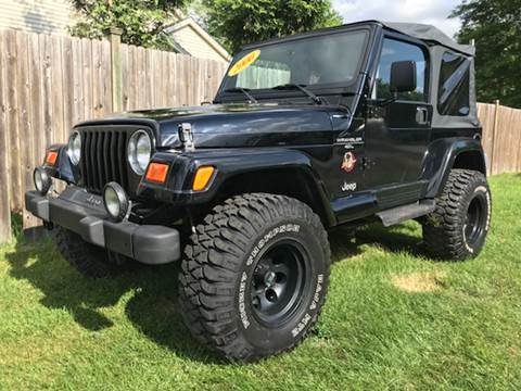 2000 Jeep Wrangler for sale at ALL Motor Cars LTD in Tillson NY