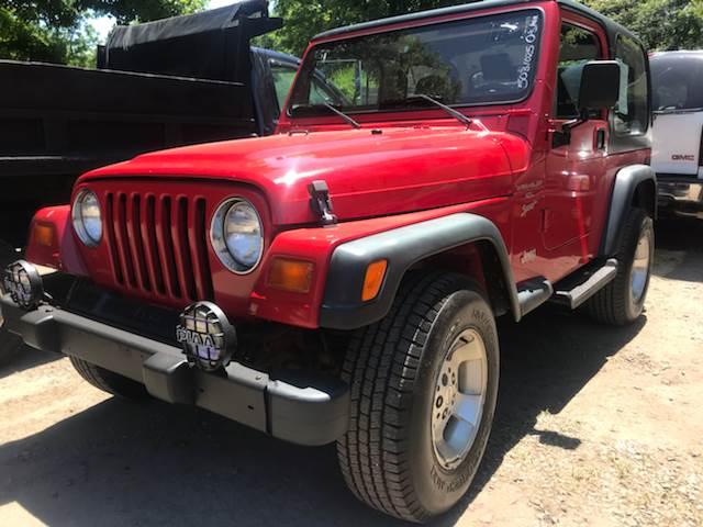 1999 Jeep Wrangler for sale at ALL Motor Cars LTD in Tillson NY