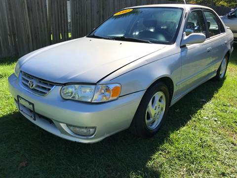 2002 Toyota Corolla for sale at ALL Motor Cars LTD in Tillson NY