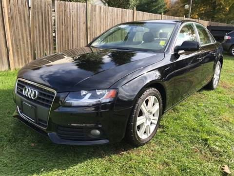 2010 Audi A4 for sale at ALL Motor Cars LTD in Tillson NY