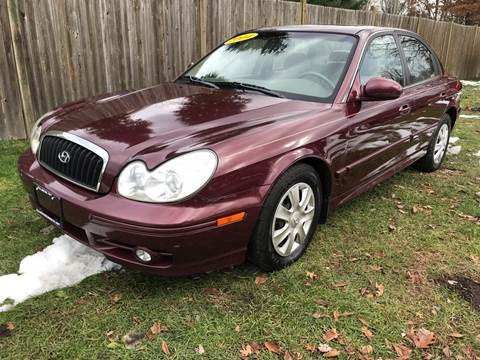 2004 Hyundai Sonata for sale at ALL Motor Cars LTD in Tillson NY