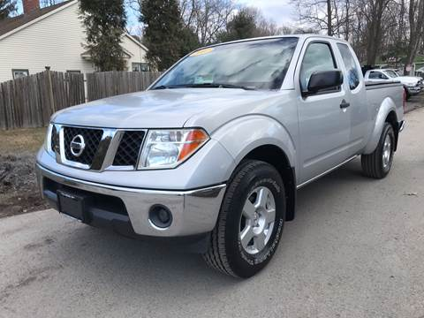 2007 Nissan Frontier for sale at ALL Motor Cars LTD in Tillson NY