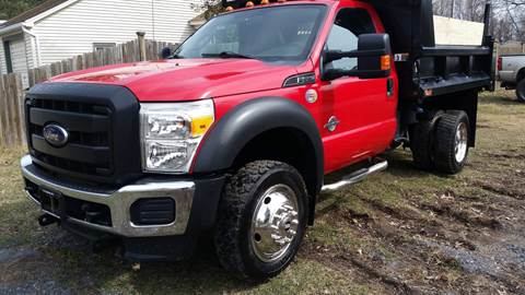 2013 Ford F-550 Super Duty for sale at ALL Motor Cars LTD in Tillson NY