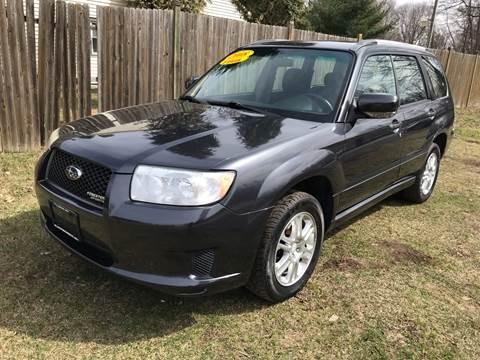 2008 Subaru Forester for sale at ALL Motor Cars LTD in Tillson NY