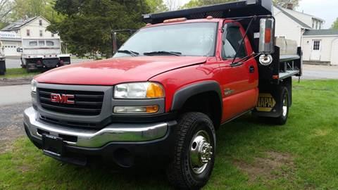 2005 GMC Sierra 3500 for sale at ALL Motor Cars LTD in Tillson NY