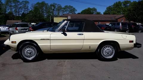 1979 Alfa Romeo Spider for sale in Tillson, NY