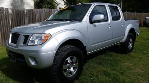 2009 Nissan Frontier for sale at ALL Motor Cars LTD in Tillson NY