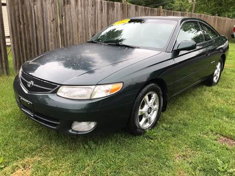 1999 Toyota Camry Solara for sale at ALL Motor Cars LTD in Tillson NY
