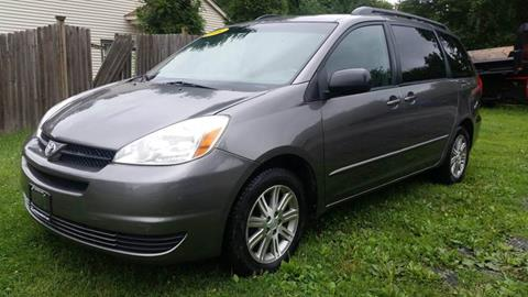 2004 Toyota Sienna for sale at ALL Motor Cars LTD in Tillson NY