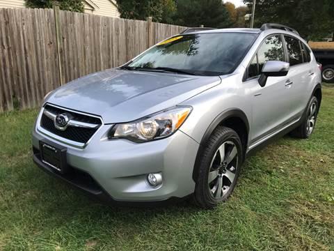 2015 Subaru XV Crosstrek for sale at ALL Motor Cars LTD in Tillson NY