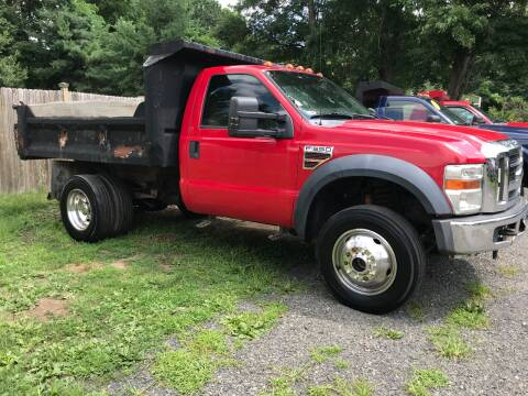 2008 Ford F-550 Super Duty for sale at ALL Motor Cars LTD in Tillson NY