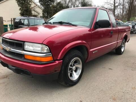 2002 Chevrolet S-10 for sale at ALL Motor Cars LTD in Tillson NY