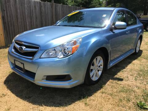 2010 Subaru Legacy for sale at ALL Motor Cars LTD in Tillson NY
