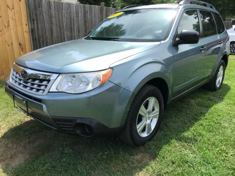 2011 Subaru Forester for sale at ALL Motor Cars LTD in Tillson NY