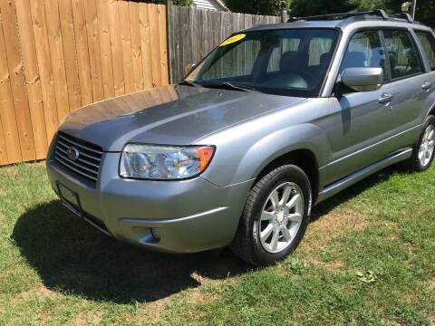 2007 Subaru Forester for sale at ALL Motor Cars LTD in Tillson NY