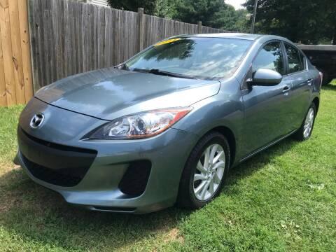 2012 Mazda MAZDA3 for sale at ALL Motor Cars LTD in Tillson NY