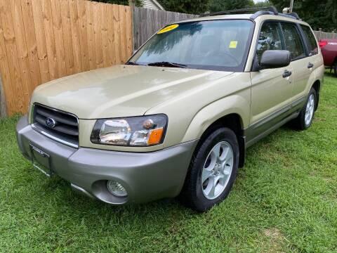 2004 Subaru Forester for sale at ALL Motor Cars LTD in Tillson NY