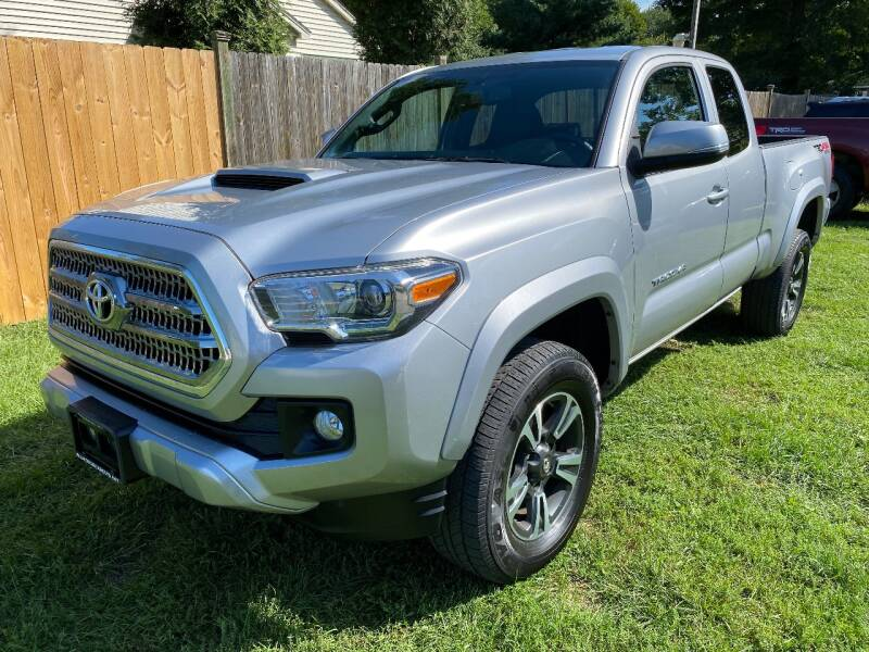 2017 Toyota Tacoma for sale at ALL Motor Cars LTD in Tillson NY