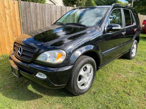 2005 Mercedes-Benz M-Class for sale at ALL Motor Cars LTD in Tillson NY