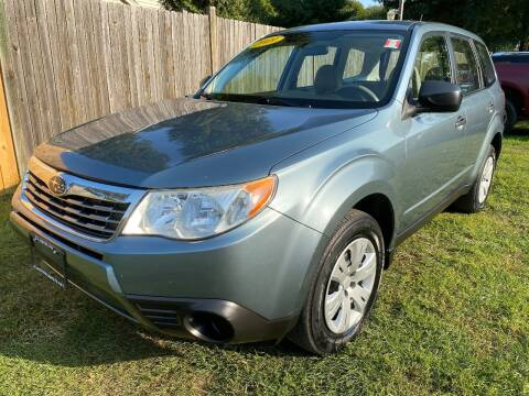 2009 Subaru Forester for sale at ALL Motor Cars LTD in Tillson NY
