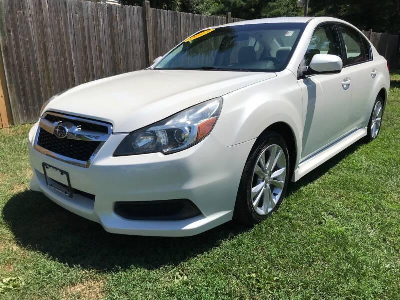 2013 Subaru Legacy for sale at ALL Motor Cars LTD in Tillson NY