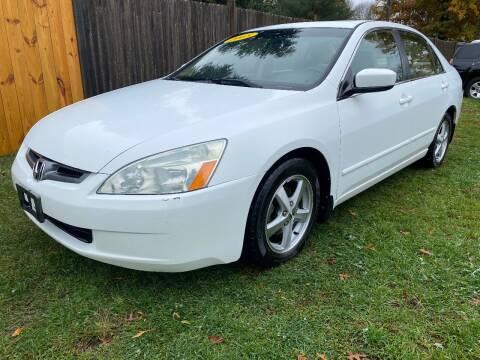 2005 Honda Accord for sale at ALL Motor Cars LTD in Tillson NY