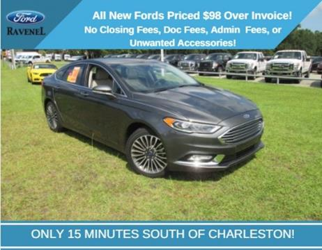 2017 Ford Fusion for sale in Ravenel SC