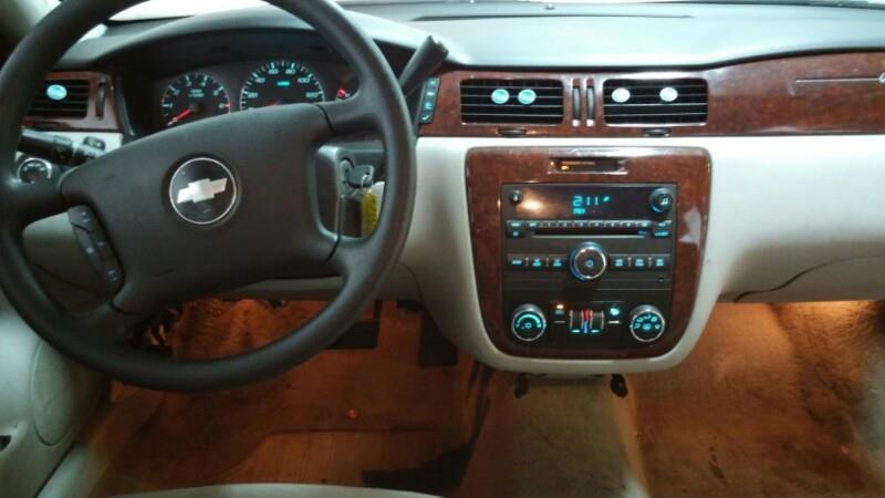 2008 Chevrolet Impala LT 4dr Sedan w/ roof rail curtain delete - Dallas TX