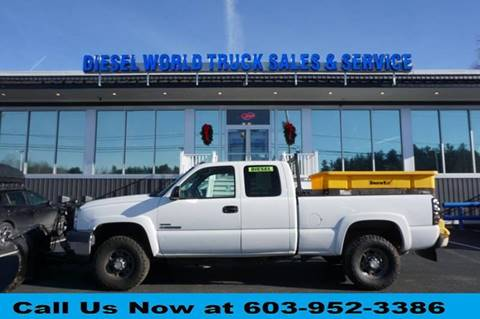 2007 Chevrolet Silverado 2500HD Classic for sale at Diesel World Truck Sales in Plaistow NH