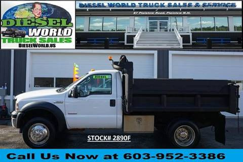 2006 Ford F-550 Super Duty for sale at Diesel World Truck Sales - Dump Truck in Plaistow NH