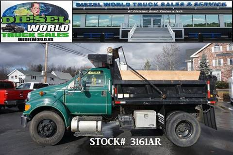 2011 Ford F-750 Super Duty for sale in Plaistow, NH