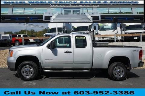 2013 GMC Sierra 2500HD for sale at Diesel World Truck Sales in Plaistow NH