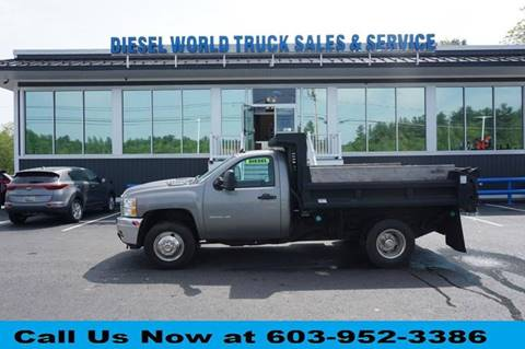 2013 Chevrolet Silverado 3500HD CC for sale at Diesel World Truck Sales in Plaistow NH