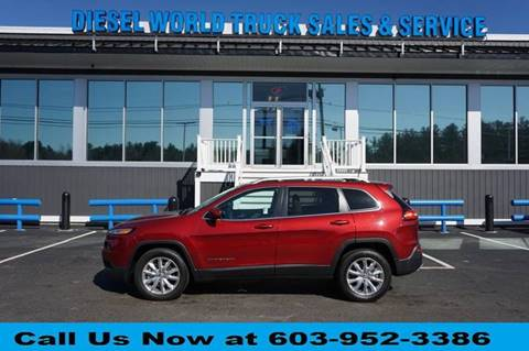 2016 Jeep Cherokee for sale in Plaistow, NH