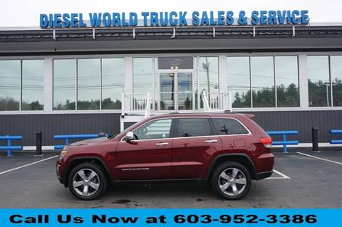 2016 Jeep Grand Cherokee for sale at Diesel World Truck Sales in Plaistow NH