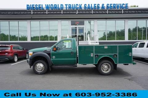 2014 Ford F-550 Super Duty for sale in Plaistow, NH