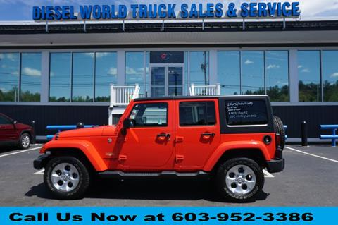 2013 Jeep Wrangler Unlimited for sale in Plaistow, NH